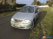 ford au 2001 wagon rwc and rego and duel fuel for Sale