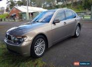 BMW  735Li  2002  Bronze/Cream Int-- MAKE ME AN OFFER--NEW STEM SEALS FITTED for Sale