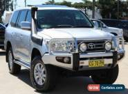 2007 Toyota Landcruiser UZJ200R Sahara (4x4) Silver Automatic 5sp A Wagon for Sale