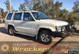 Classic Holden Jackaroo 3L Turbo Diesel 1999 Manual White Wagon for Sale