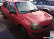 2003 RENAULT CLIO RED 1.2 PETROL spares or repairs for Sale