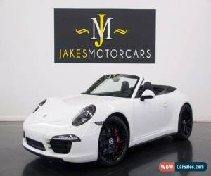Classic 2013 Porsche 911 Carrera 4S Cabriolet ($142K MSRP) for Sale