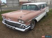 1958 Chevrolet nomad for Sale