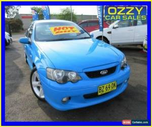 Classic 2005 Ford Falcon BA MkII XR6 Blue Automatic 4sp A Sedan for Sale