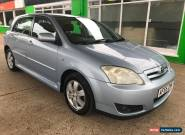2005 Toyota Corolla- 5 Stamp- 3 FK - MOT UNTIL: 03 march 2018 (No Advisory) for Sale