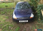 2002 FORD KA LUXURY BLUE for Sale