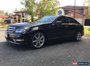 2012 Mercedes-Benz C250 CDI BlueEFFICIENCY Avantgarde Auto MY12 for Sale