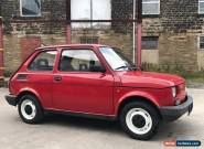 CLASSIC MINT FIAT 126 TIMEWARP CONDITION TOTALLY ORIGINAL LHD 1 OWNER FROM NEW for Sale