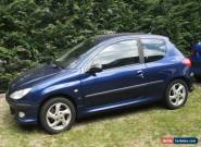 Peugeot 206 Gti. 2Ltr. 5sp Manual. Dark Blue. for Sale