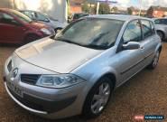 2007 Renault Megane Mot 02/2018 2 keys Service invoices Cambelt kit done at 81k for Sale