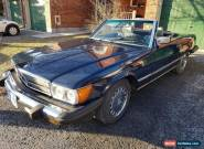 1986 Mercedes-Benz SL-Class for Sale