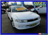 1998 Mitsubishi Lancer CE GLi White Automatic 4sp A Sedan for Sale