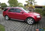Classic 2006 Ford Territory Ghia Turbo for Sale