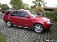 2006 Ford Territory Ghia Turbo for Sale