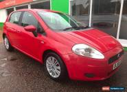 2006 Fiat Grande Punto 1.2 Dynamic-2Former Keepers-Red- 11 Service Stamps for Sale