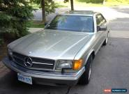 1986 Mercedes-Benz 500-Series for Sale