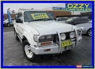 1997 Toyota Landcruiser (4x4) White Manual 5sp M Wagon for Sale
