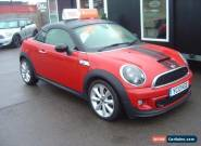 2013:13 MINI Coupe 2.0 Cooper SD CHILLI PACK ALLOY WHEELS BI-XENONS for Sale