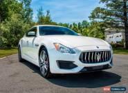 2017 Maserati Quattroporte for Sale