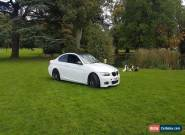 BMW 320i M SPORT COUPE AUTOMATIC PEARL WHITE/GLOSS BLACK 66,000 MILES for Sale