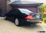 2002 Mercedes - Benz S600 L V12 auto very low km not BMW, Audi, VW for Sale