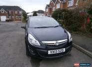 2013 VAUXHALL CORSA 1.2 ENERGY AC BLACK Full Service History With Lots of Extras for Sale
