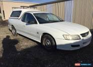 2004 HOLDEN COMMODORE VZ UTILITY AUTO CANOPY 3.6L V6 LPG MINOR DAMAGED NR DRIVES for Sale
