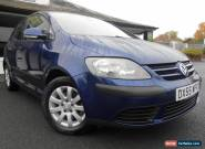Volkswagen Golf Plus 1.6L FSI SE 5 Door 6 Speed Manual Hatchback 2005/55 Blue for Sale