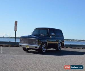 Classic 1982 Chevrolet Blazer for Sale