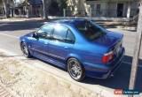 Classic BMW E39 M5 2002 Series 2 Le Mans Blue for Sale