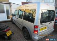 2009 FORD TOURNEO CONNECT TOURNEO T230 LX90 SILVER 1.8 DIESEL   8  7 SEATER  for Sale