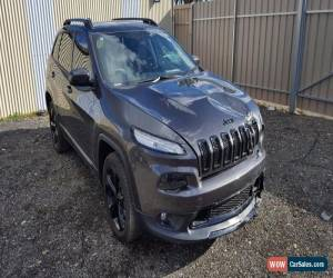 Classic 2016 JEEP CHEROKEE KL MY16 BLACKHAWK AUTO 6KMS 3.2L LIKE NEW MINOR DAMAGED TRAIL for Sale