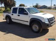 11/2007 HOLDEN RODEO RA DUAL CAB UTILITY MY08 4X4 3.0L VCDI TURBO DIESEL DAMAGED for Sale