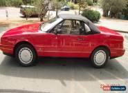 1991 Cadillac Allante Convertible for Sale