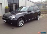 BMW X3 2.0d M Sport 4X4  , 107K, GOOD HISTORY, FULL BLACK LEATHER VGC. for Sale