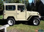 1984 Toyota Land Cruiser BJ42LV for Sale