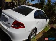 Ford Falcon XR6 2011 Auto for parts for Sale