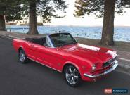 1966 FORD Mustang factory 289 V8 Convertible Pony Right Hand Drive  AMAZING  for Sale