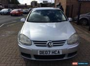 2007 Volkswagen Golf 1.9TDI ( 105PS ) Diesel  Match Long Mot 2 Owners Bargain for Sale