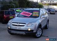 2006 Holden Captiva CG LX (4x4) Silver Automatic 5sp A Wagon for Sale
