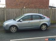 RARE 2007 FORD FOCUS 1.6 Ghia Auto Low Miles FORD GPS DVD NAV Media Player FSH for Sale