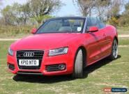 2010 Audi A5 Cabriolet 2967cc. 3.0L TDI Convertible for Sale