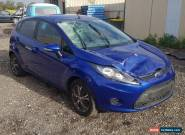 2011 FORD FIESTA WT HATCHBACK 1.6L MAN 126KM LIGHT DAMAGED REPAIRABLE NO RESERVE for Sale