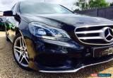 Classic 2013 63 MERCEDES-BENZ E CLASS 2.1 E220 CDI AMG SPORT 4D AUTO 168 BHP DIESEL for Sale