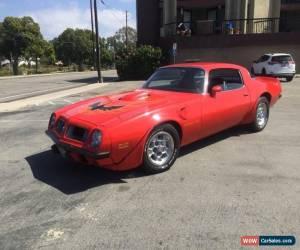 Classic 1975 Pontiac Trans Am for Sale