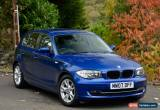 Classic BMW 116 1.6 2007MY i SE Montego Blue for Sale