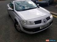 Renault Megane Convertible 2005 for Sale
