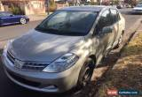 Classic Damaged 2010 Nissan Tiida repairable write off for Sale