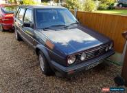 volkswagen mk2 golf gti 8v campaign edition for Sale