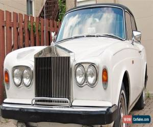 Classic Rolls-Royce: Silver Shadow Coupe. Rare ! for Sale